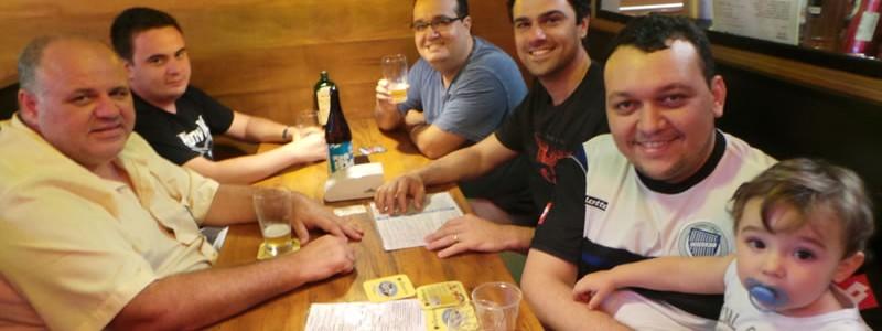Fernando, Fernandinho, Rodrigo, Otávio, Marcos e Nico.