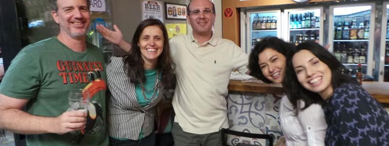 Guxtavo, Anamaria, Marcelo, Giovana e Juliana.